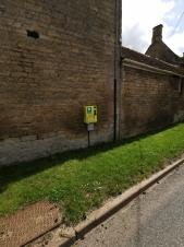 Defibrillator has now been installed in Little Casterton